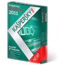 Kaspersky Anti Virus 2011 (Retail Box) 3PC/2YR